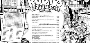 Rudy's Cant Fail kids menu