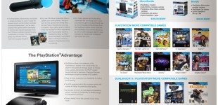 Sony Playstation instructional flier