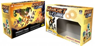 Ratchet & Clank packaging design