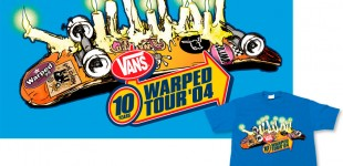 Vans Warped Tour tee