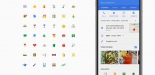 Google Dining attributes icons